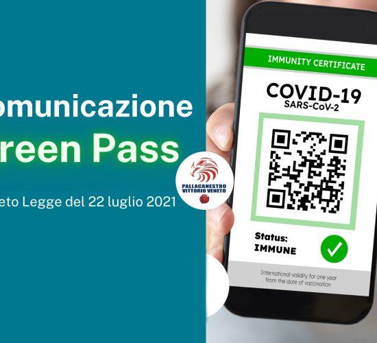 comunicazione green pass